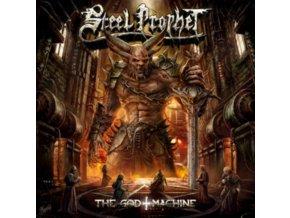 STEEL PROPHET - The God Machine (Red / Black Splatter Vinyl) (LP)