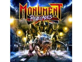 MONUMENT - Renegades (Silver Vinyl) (LP)