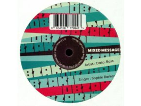 "DATA BASS - Mixed Messages (Feat. Sophie Barker) (10"" Vinyl)"