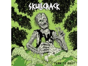 SKULLCRACK - Turn To Dust (Blue Vinyl) (LP)