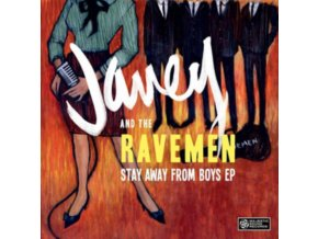 "JANEY & THE RAVEMEN - Stay Away From Boys (7"" Vinyl)"