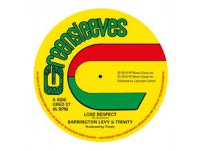 "BARRINGTON LEVY & TRINITY - Lose Respect (12"" Vinyl)"