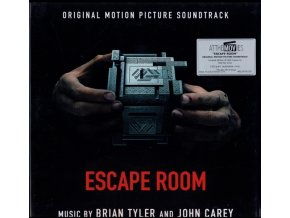 BRYAN TYLER - Escape Room - OST (Transparent Red Vinyl) (LP)