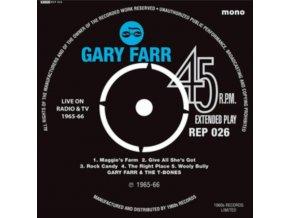 "GARYFARR & T-BONES / KEITH EMERSON - Live On TV EP (RSD 2019) (7"" Vinyl)"