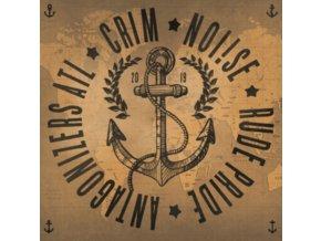 "ANTAGONIZERS ATL / CRIM / NOI!SE / RUDE PRIDE - 4 Way Split (7"" Vinyl)"