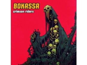 BOKASSA - Crimson Riders (Coloured Vinyl) (LP)