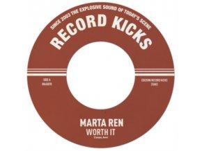 """MARTA REN - Worth It / Instrumental (7"""" Vinyl)"""