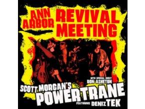 SCOTT MORGANS POWERTRANE WITH DENIZ TEX & RON ASHETON - Ann Arbour Revival Meeting (LP)