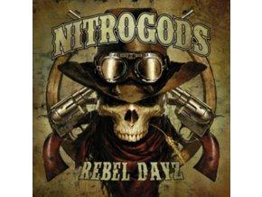 NITROGODS - Rebel Dayz (Red Vinyl) (LP)