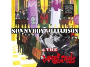 YARDBIRDS WITH SONNY BOY WILLIAMSON - Yardbirds With Sonny Boy Williamson - Clear Vinyl (LP)