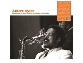 ALBERT AYLER - Recorded In Stockholm October 25th (LP)