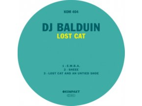 "DJ BALDUIN - Lost Cat (12"" Vinyl)"
