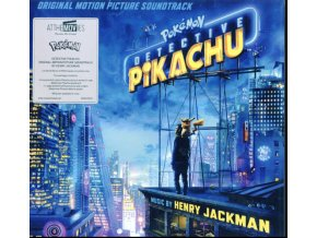 ORIGINAL SOUNDTRACK - Pokemon Detective Pikachu (White Vinyl) (LP)