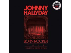JOHNNY HALLYDAY - Born Rocker Tour (Live Au Theatre De Paris) (LP)