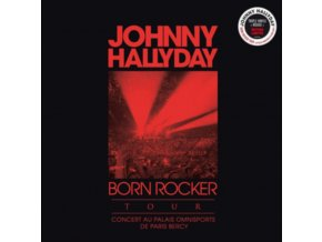 JOHNNY HALLYDAY - Born Rocker Tour (Live Bercy 2013) (LP)
