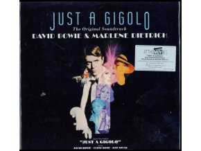 ORIGINAL SOUNDTRACK / DAVID BOWIE & MARLENE DIETRICH - Just A Gigolo (Transparent Blue Vinyl) (LP)