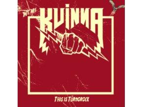 KVINNA - This Is Turborock (LP)