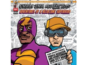 CHALI 2NA & KRAFTY KUTS - Adventures Of A Reluctant Superhero (LP)