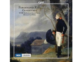 WDR SO KOLN / GRIFFITHS - Ferdinand Ries: Ouverturen (LP)