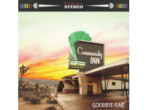 GOODBYE JUNE - Community Inn (+Guitar Plectrum) (LP)