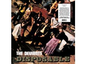 DEVIANTS - Disposable - Clear Vinyl (LP)