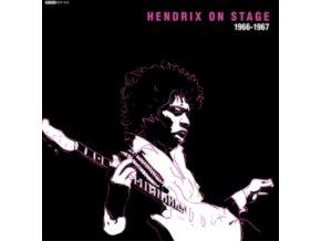 """JIMI HENDRIX - Hendrix On Stage 66-67 (7"""" Vinyl)"""