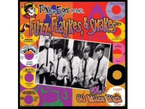 VARIOUS ARTISTS - Fuzz. Flaykes And Shakes (Limited Red Vinyl) (LP)
