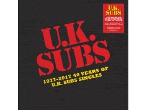 """UK SUBS - 1977-2017 - 40 Years Of Uk Subs Singles (10"""" Vinyl)"""