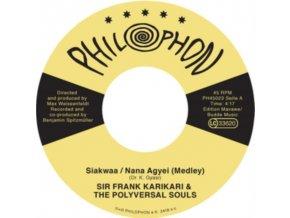 "POLYVERSAL SOULS - Siakwaa / Nana Agyei (Medley) (Feat. Sir Frank Karikari) (7"" Vinyl)"