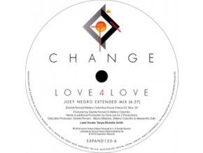 "CHANGE - Love 4 Love / Make Me (Go Crazy) (12"" Vinyl)"