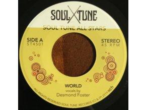 """SOUL TUNE ALLSTARS - World / Natural Feeling (7"""" Vinyl)"""