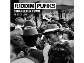 """RIDDIM PUNKS - Stranger In Town (Feat. Exco Levi) (7"""" Vinyl)"""