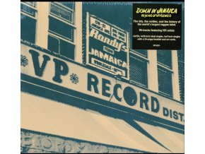 VARIOUS ARTISTS - Down In Jamaica - 40 Years Of Vp Records (+24-Page Book & 6 Art Cards) (LP Box Set)