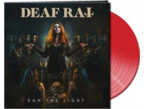 DEAF RAT - Ban The Light (Clear Red Vinyl) (LP)