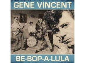 GENE VINCENT - Be-Bop-A Lula - Blue Vinyl (LP)