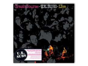 """UK SUBS - Crash Course - Live (10"""" Vinyl)"""
