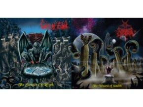 """CAEDES CRUENTA / CULT OF EIBON - The Wizard Of Yaddith / The Sleeper Of RLyeh (7"""" Vinyl)"""