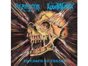 AGRESSOR LOUDBLAST - Licensed To Thrash (LP)