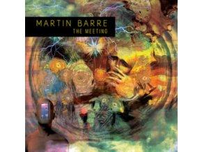 MARTIN BARRE - The Meeting (Blue Vinyl) (LP)