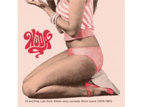 VARIOUS ARTISTS - Nuda - 21 Exciting Cuts From Italian Sexy-Comedy Disco Scene (1975-1981) (LP)