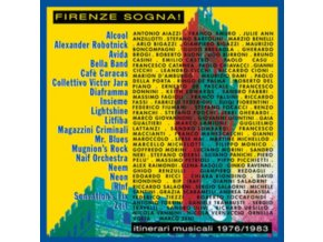 VARIOUS ARTISTS - Firenze Sogna! (Itinerari Musicali 1976-1983) (LP)