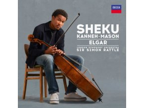 SHEKU KANNEH-MASON / LONDON SYMPHONY ORCHESTRA / SIR SIMON RATTLE - Elgar (LP)