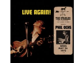 PHIL OCHS - Live Again! Recorded Saturday May 26. 1973 At The Stables (LP)
