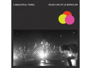 IDLES - A Beautiful Thing: Idles Live At Le Bataclan (Neon Clear Pink Vinyl) (LP)