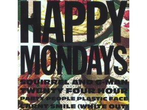 HAPPY MONDAYS - Squirrel And G-Man Twenty Four Hour Party People Plastic Face Carnt Smile (White Out) (LP)