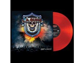 L.A. GUNS - Live In Concert (Red Vinyl) (LP)