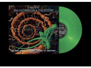 VARIOUS ARTISTS - A Tribute To Jim Morrison & The Doors (Green Vinyl) (LP)