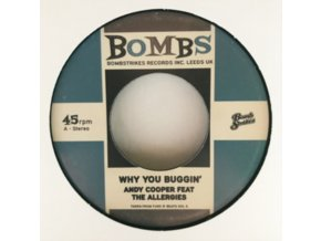 """ANDY COOPER / DR. SYNTAX & PETE CANNON - Why You Buggin (Feat. The Allergies) (7"""" Vinyl)"""