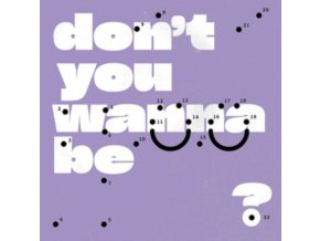 SUPER WHATEVR - Dont You Wanna Be Glad? (Coloured Vinyl) (LP)