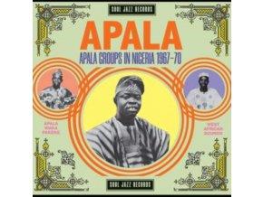 SOUL JAZZ RECORDS PRESENTS - Apala: Apala Groups In Nigeria 1964-1969 (LP)